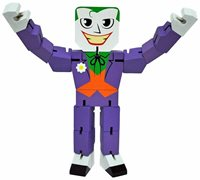 DC Comics Wood Warriors Superheroes THE JOKER - POSE 'EM Fidgety Fun