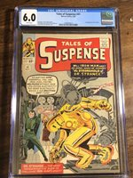 Tales of Suspense #41 CGC 6.0 Universal CGC WHITE PAGES