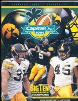 2005 University of Iowa Capital One Bowl Football Media Guide a9 BX 82