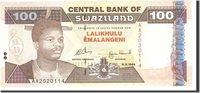 100 Emalangeni Swaziland Banknote, 1996-09-06, Km:27a