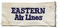 Early 1950's Eastern Air Lines Uniform Patch