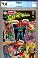 Superman #217 CGC NM 9.4
