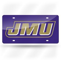 James Madison Dukes Laser License Plate Very sharp looking   #516