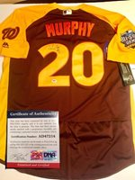 Daniel Murphy Hand Autographed Signed 2016 All Star Jersey (Size XL) Washington Nationals PSA/DNA CertCUSTOM FRAME YOUR JERSEY