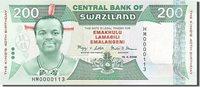 200 Emalangeni Swaziland Banknote, 2008-04-19