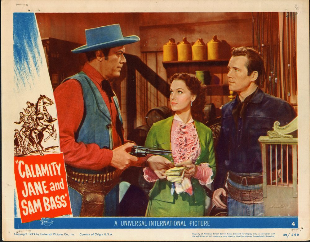 Image result for calamity jane and sam bass 1949