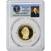 2007 S PRESIDENTIAL DOLLAR SET PCGS PR69DCAM FIRST STRIKE 4 COIN SET  PR 69  FS