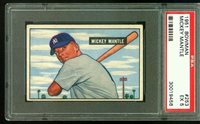 1951 Bowman MICKEY MANTLE Rookie New York Yankees PSA 5