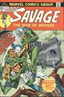 DOC SAVAGE The Hell Diver Apr 1973 Vol 1 No 4 Marvel Comics Robeson
