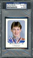 Wayne Gretzky Autographed 1981-82 Oilers Red Rooster Card #99 Edmonton Oilers Vintage Signature PSA/DNA #83105662Wayne Gretzky Autographed 1981-82 Oilers Red Rooster Card #99 Edmonton Oilers Vintage Signature PSA/DNA #83105662