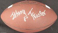 JOHNNY FRASIER SIGNED NIKE FOOTBALL FLORIDA STATE SEMINOLES AUTOGRAPHED COA K1