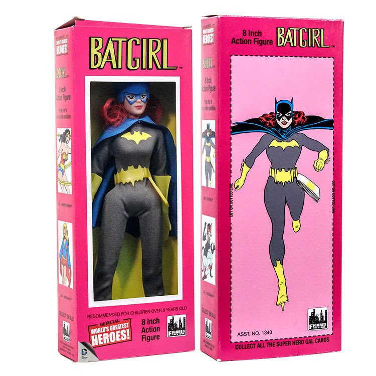 Official DC Comics Batgirl 8 inch Action Figure in Retro Box