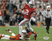 JK DOBBINS SIGNED AUTOGRAPHED OHIO STATE BUCKEYES FOOTBALL 8X10 PHOTO  PSA DNA !  1b90e6b59