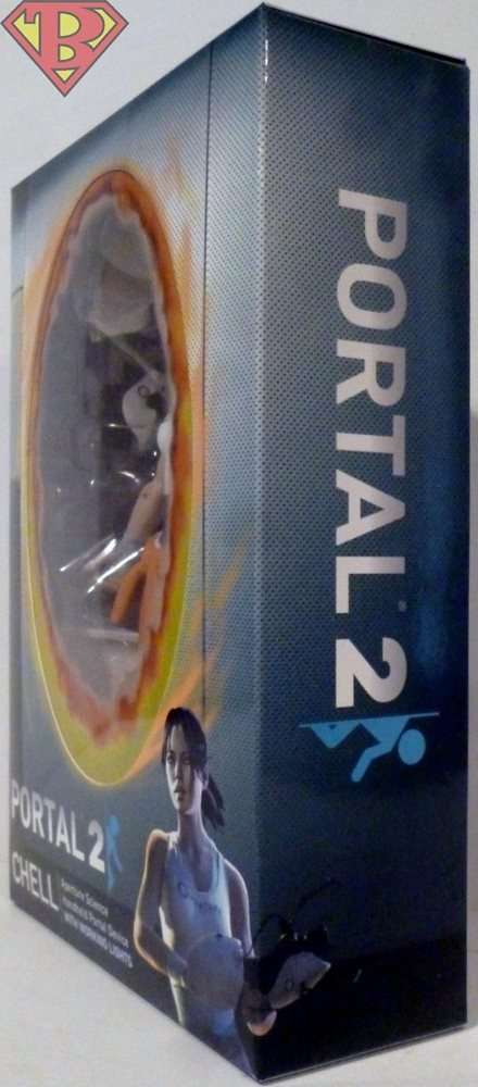 """CHELL with LIGHT UP ASHPD Portal 2 7/"""" inch Scale Video Game Figure Neca 2018"""