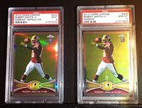 2012 Topps Chrome Robert Griffin III Rookie Passing With Refractor PSA GEM MINT