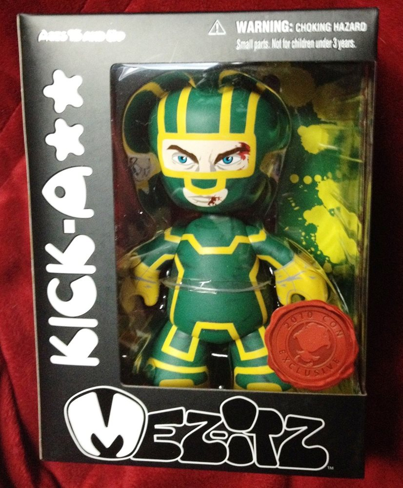 Mez-itz Kick-Ass Exclusive Vinyl Figure Green /& Yellow