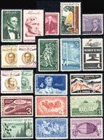 1958 US Commemorative Stamp Year Set; 1100-23