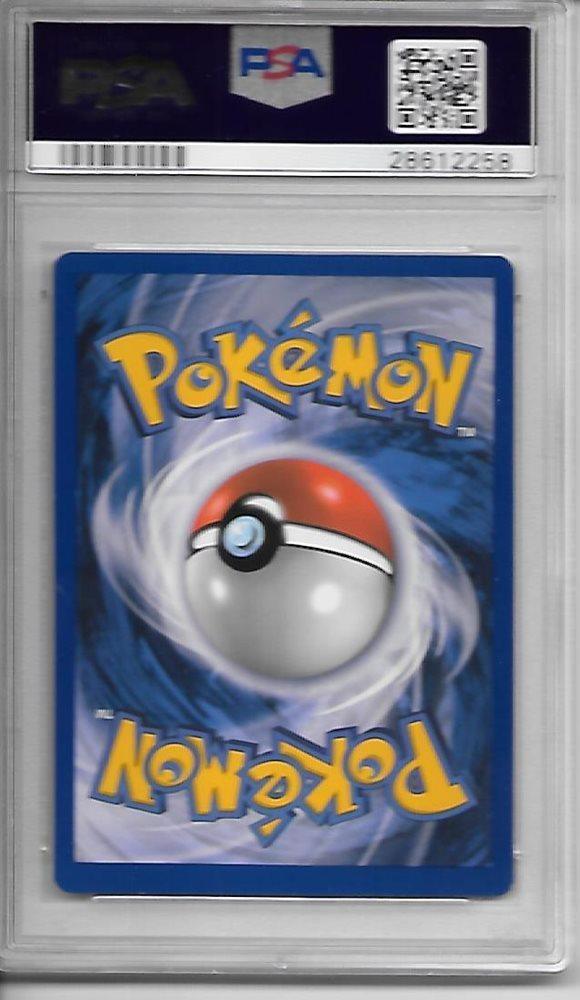 Chrysacier Pokemon French Base Set 1st Edition Metapod 54 PSA 9 Mint WOTC