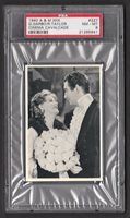 Greta Garbo Robert Taylor 1940 A&M Wix Cinema Cavalcade Film Card PSA 8 NM-MT