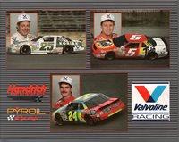 Team Hendrick Motor Sports Chevy Lumina NASCAR Card