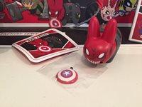 Kidrobot Marvel Labbit Mini Series 2.5 RED SKULL