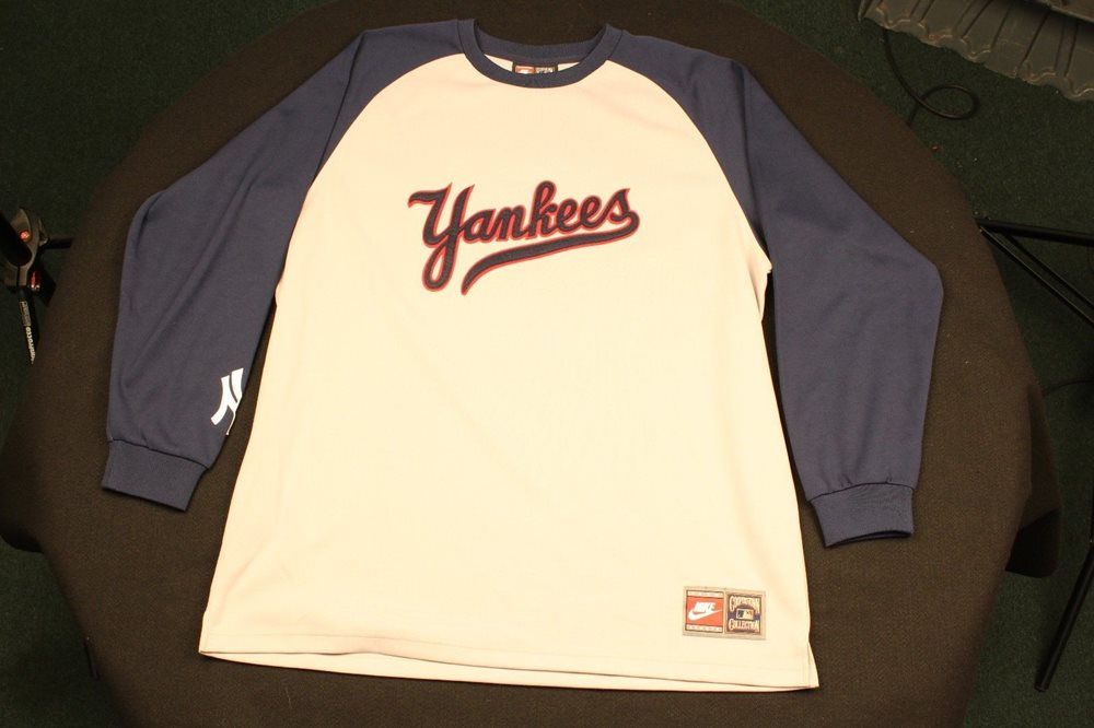 new products ff6b8 bd54e Nike Cooperstown Collection #8 Yogi Berra New York Yankees Jersey