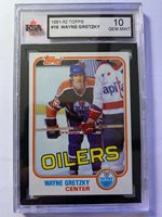 1981-82 Topps Wayne Gretzky KSA 10 #16 Hockey Card! Perfect Gem Mint 3rd Year!!