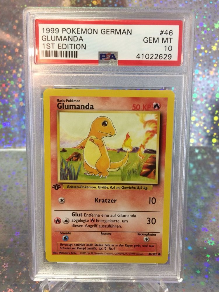 Charmander 46//102 Base Set Unlimited Near Mint