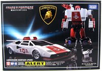 Transformers 10 Inch Action Figure Masterpiece Series - Red Alert MP-14