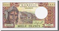 1000 Francs Dschibuti Banknote