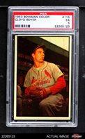 1953 Bowman #115 Cloyd Boyer Cardinals PSA 5 - EX