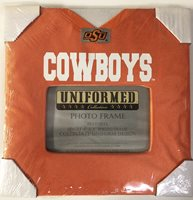 Oklahoma State Cowboys Uniformed Photo Picture Frame Jersey Football 4 X 6 Inch