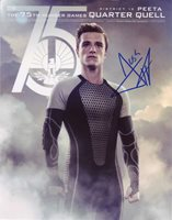 Josh Hutcherson in-person autographed photo Hunger Games Perfect color photo from The Hunger Games signed by this American film and television actor whose work includes: The Hunger Games, Epic, Red Dawn, The Forger, 7 Days in Havana, American Splendor, Motocross Kids, Zathura, RV, Bridge to Terabithia and Journey to the Center of the Earth.