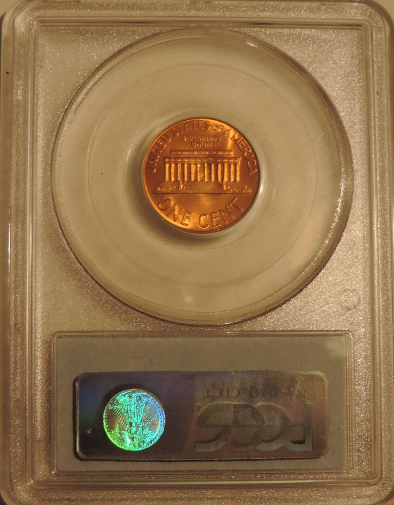 1968-D PCGS MS65 Lincoln Memorial cent RED GEM penny uncirculated