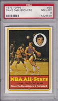 1973 Topps #30 Dave DeBusschere PSA 8 NM/MT New York Knicks Hall of Fame Forward