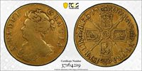 1706 Great Britian Guinea, S-3562 PCGS VF25, Top Pop! only 1 graded higher