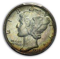 1938 10C Mercury Dime PCGS PR67 (CAC)