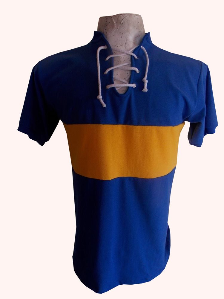 best website 0a523 a2ac7 BOCA JUNIORS 1919-1920 Vintage Jersey REPLICA