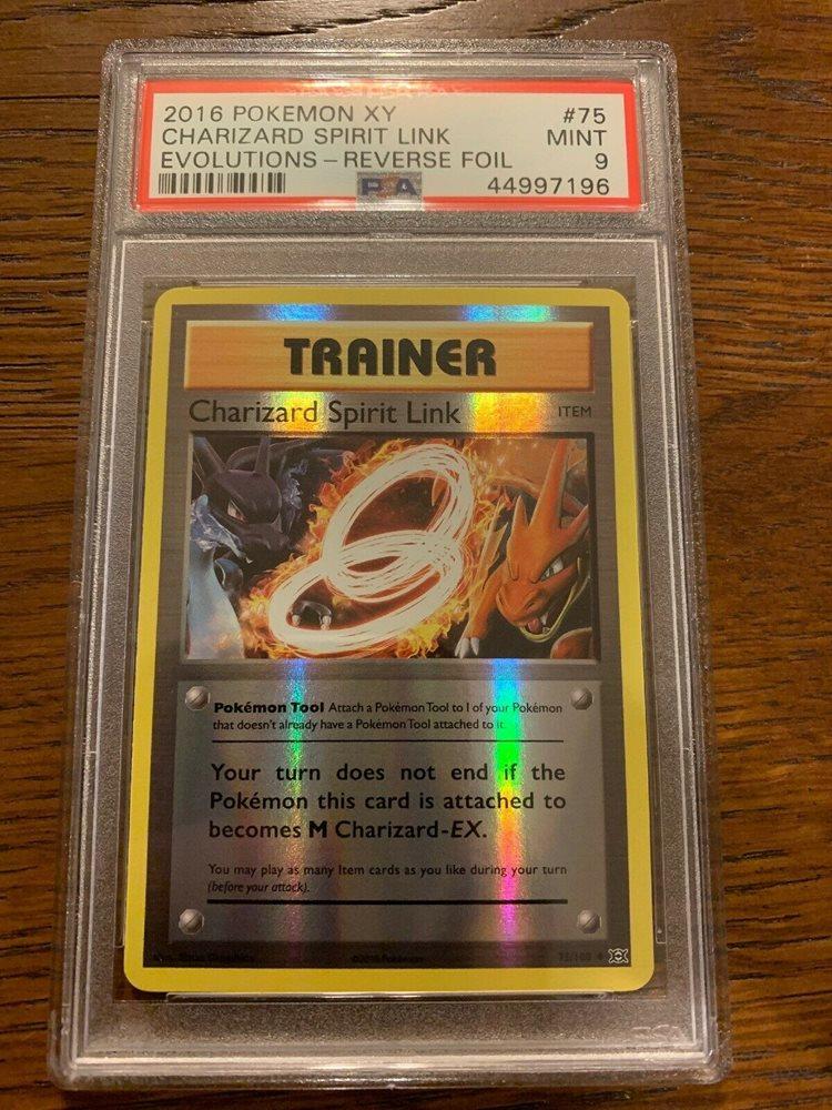 Pokémon TCGCharizard Spirit Link #75//108 Uncommon XY Evolutions Trainer Tool