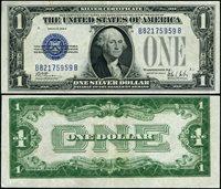 FR. 1602 $1 1928-B Silver Certificate B-B Block XF ERROR