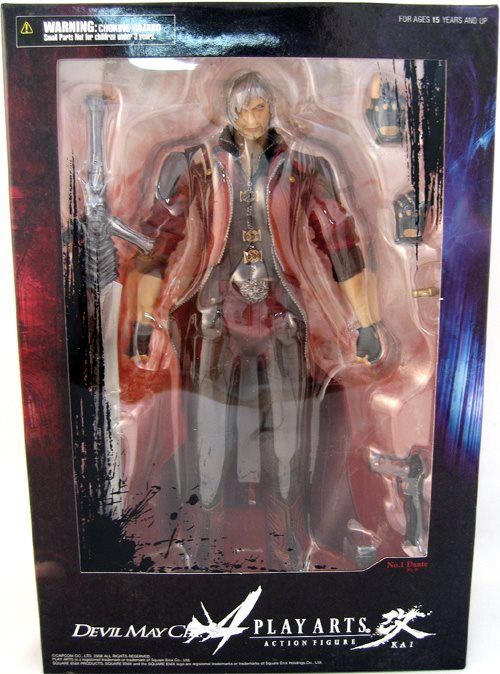 Devil May Cry 4 10 Inch Action Figure Play Arts Kai Series Dante