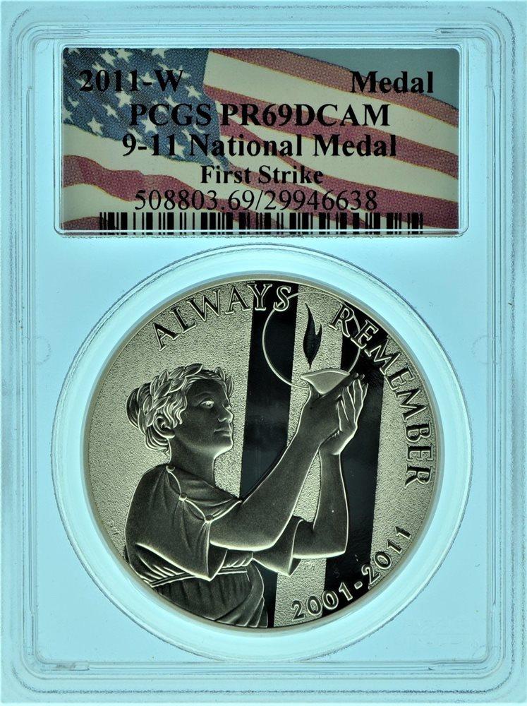 The  2011-P  September 11 National Silver Medal