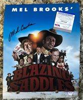 Mel Brooks Blazing Saddles Autographed Signed 11x14 Poster Photo PSA/DNA COA