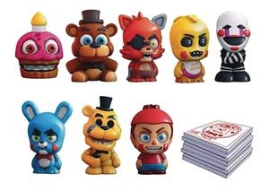 Five Nights at Freddy/'s SQUISHME Blind Boxes 24 Piece Display NEW #sjan19-216