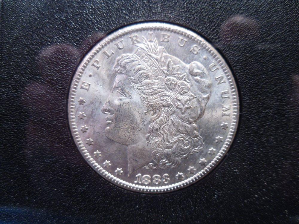 1883 CC Morgan Silver Dollar NGC MS63 Carson City GSA w// Box /& Certificate