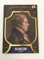 William Clark The Bar Pieces of the Past Historic Americans Card LB12