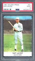 1961 GOLDEN PRESS NAP LAJOIE # 31 PSA 9 MINT (9773)