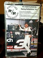 Dale Earnhardt Sr. Racing Reflections original photo. 8 x 10