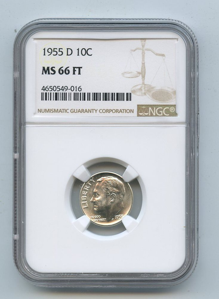 1979 D ROOSEVELT DIME  MS-66 NGC
