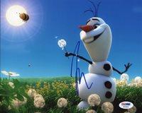Josh Gad Frozen (Olaf) Signed Authentic 8X10 Photo Autographed PSA/DNA #X60905